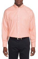 Classic Fit Gingham Dress Shirt