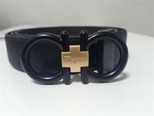 Black Textured High Quality Belt