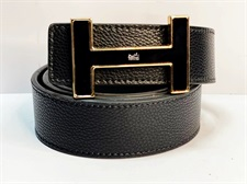 Black Buckle Aesthitc Leather