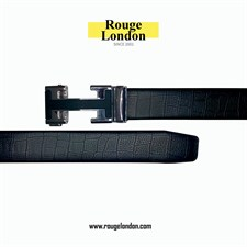 High Quality H Buckle Black