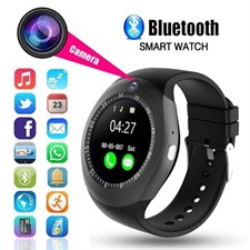 Smart Watch Y1S with SIM slot for iOS and Android with Camera