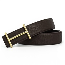 Golden Buckle Aesthitc Leather