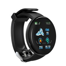 D18 Smart Watch for Men and Women Fitness Tracker For Android Ios