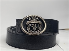 B-Silver Buckle Imported Belt