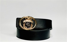 B-Golden Buckle Imported Belt